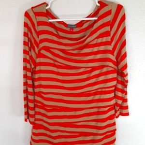Vince Camuto Large 3/4 sleeve blouse